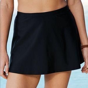 Swimsuits For All NWT Black Swim Skirt, 34